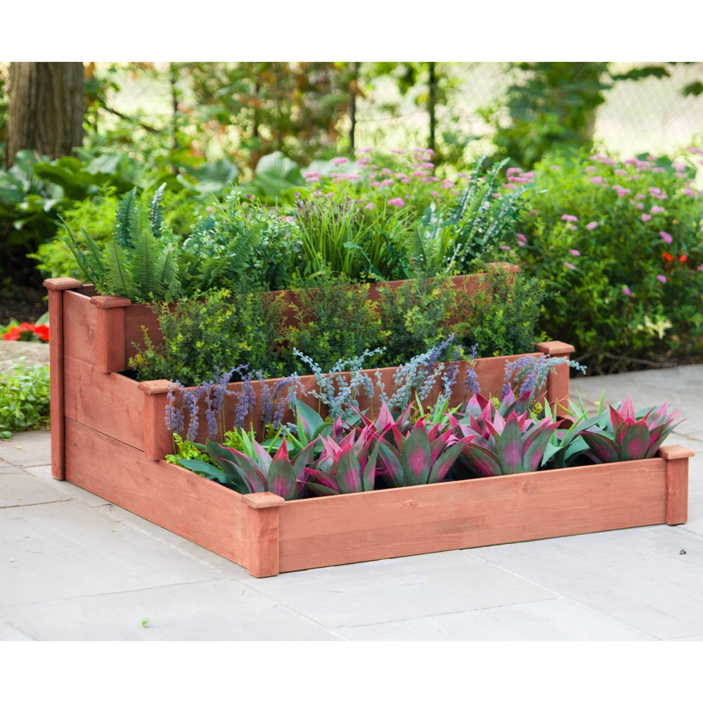 "Image of ""21""""H Novelty Planters - Brown - Leisure Season"""