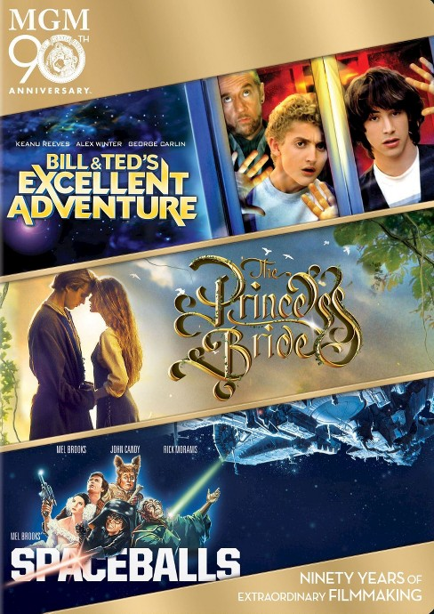 Bill & Ted's Excellent Adventure/The Princess Bride/Spaceballs (3 Discs) (dvd_video) - image 1 of 1
