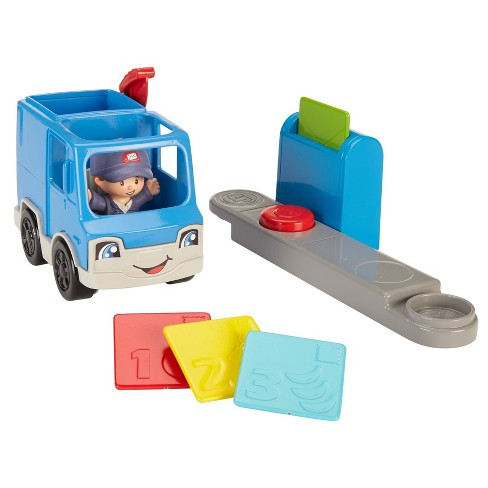 Fisher-Price Little People Sending Letters Mail Truck - image 1 of 6