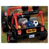 Power Wheels 12V Tough Talking Jeep Powered Ride-On - Black/Red - image 3 of 4