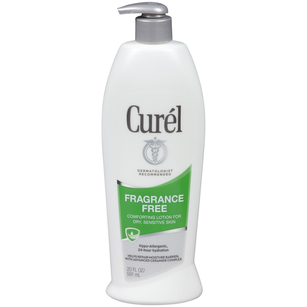 Unscented Curel Daily Moisture Hand & Body Lotion - 20oz, Fragrance Free
