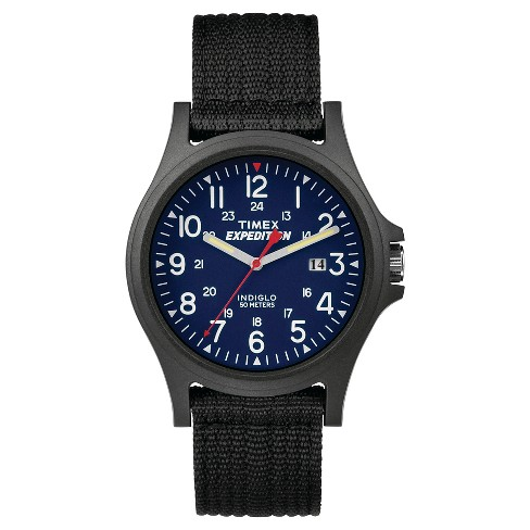 Men's Timex Expedition Acadia Watch with Fabric Strap and Resin Case - Black TW49999009J - image 1 of 1