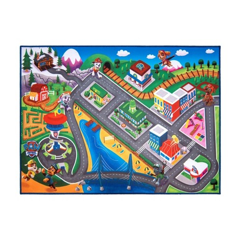 "PAW Patrol 40""x54"" Game Rug - image 1 of 3"