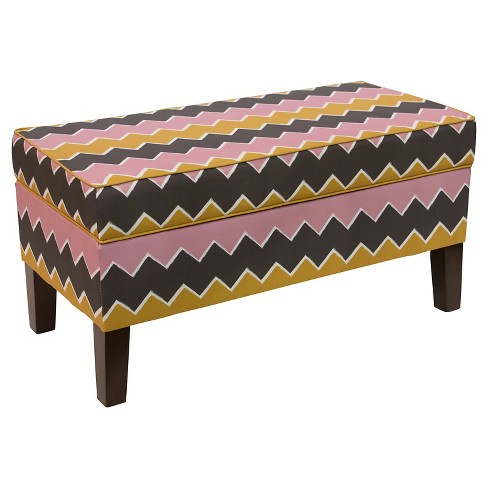 Mila Storage Bench - Cloth & Co - image 1 of 5
