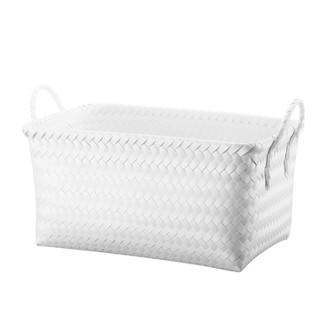 Cube Storage Rectangle Bin White Small - Room Essentials™