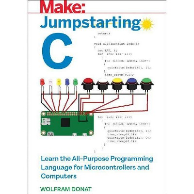 Jumpstarting C - by  Wolfram Donat (Paperback)