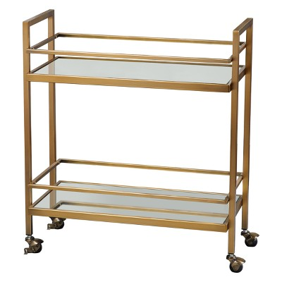 Manhattan Bar Cart Gold - Buylateral