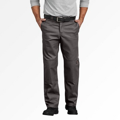 Dickies Men's Relaxed Fit Straight Double Knee Pants - Gray