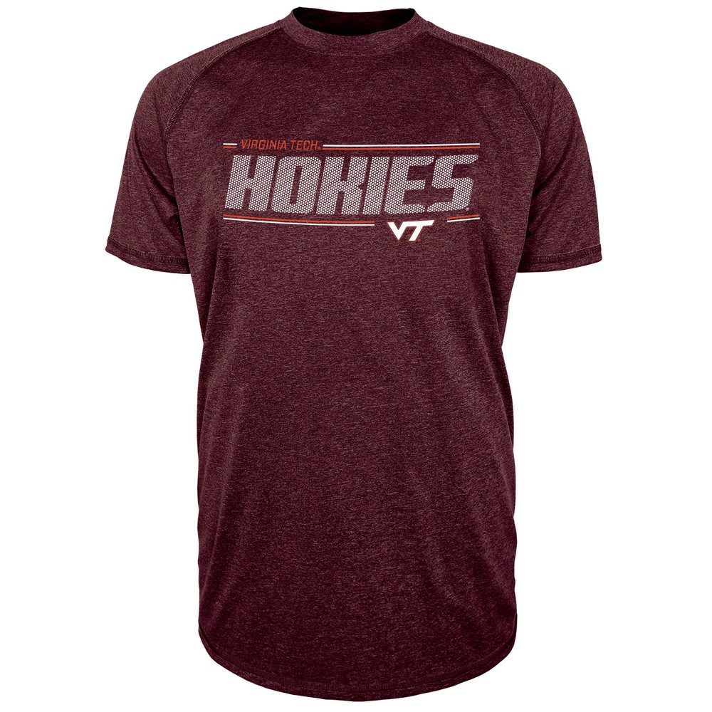 Virginia Tech Hokies Men's Team Speed Poly Performance T-Shirt S, Multicolored