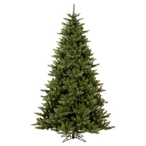 About this item - 7.5ft Pre-Lit LED Artificial Christmas Tree Full... : Target