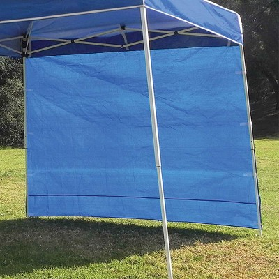 Z-Shade 10' x 10' Instant Canopy Tent Shelter with Side Wall, Carolina Blue