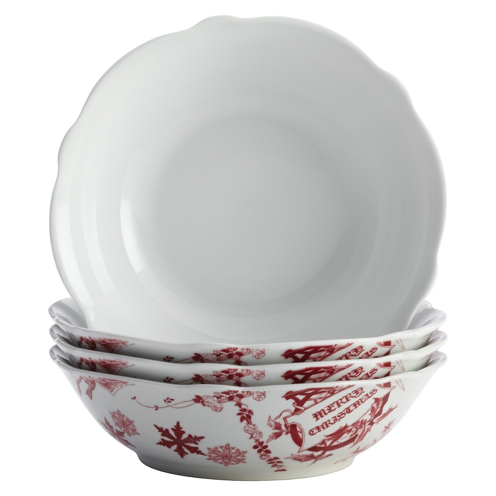 Sweese 28 Ounce Porcelain Bowls Cereal, Salad and Desserts - Set of 4, Now $20.79 (Was $35.99)