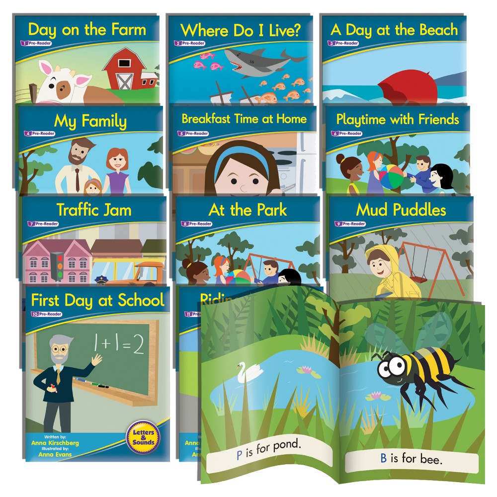 Image of Junior Learning Phonemic Awareness Readers - Fiction Learning Set