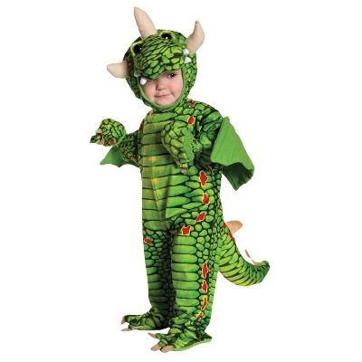 Kids' Dragon Halloween Costume - L 2T/4T