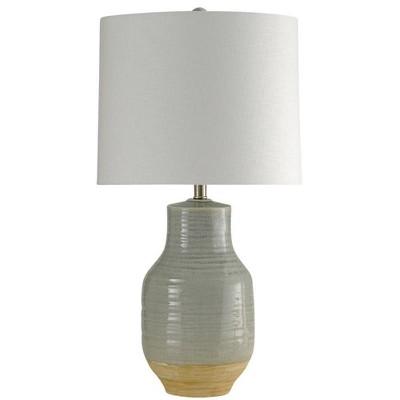 Prova Ceramic Table Lamp Gray  - StyleCraft