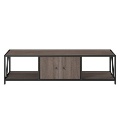 65  Grayhill Tv Stand For Tv's Up To Distressed Gray Oak - Room & Joy