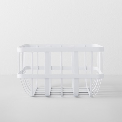 Kitchen Cabinet Organizer Basket Small White - Made By Design™