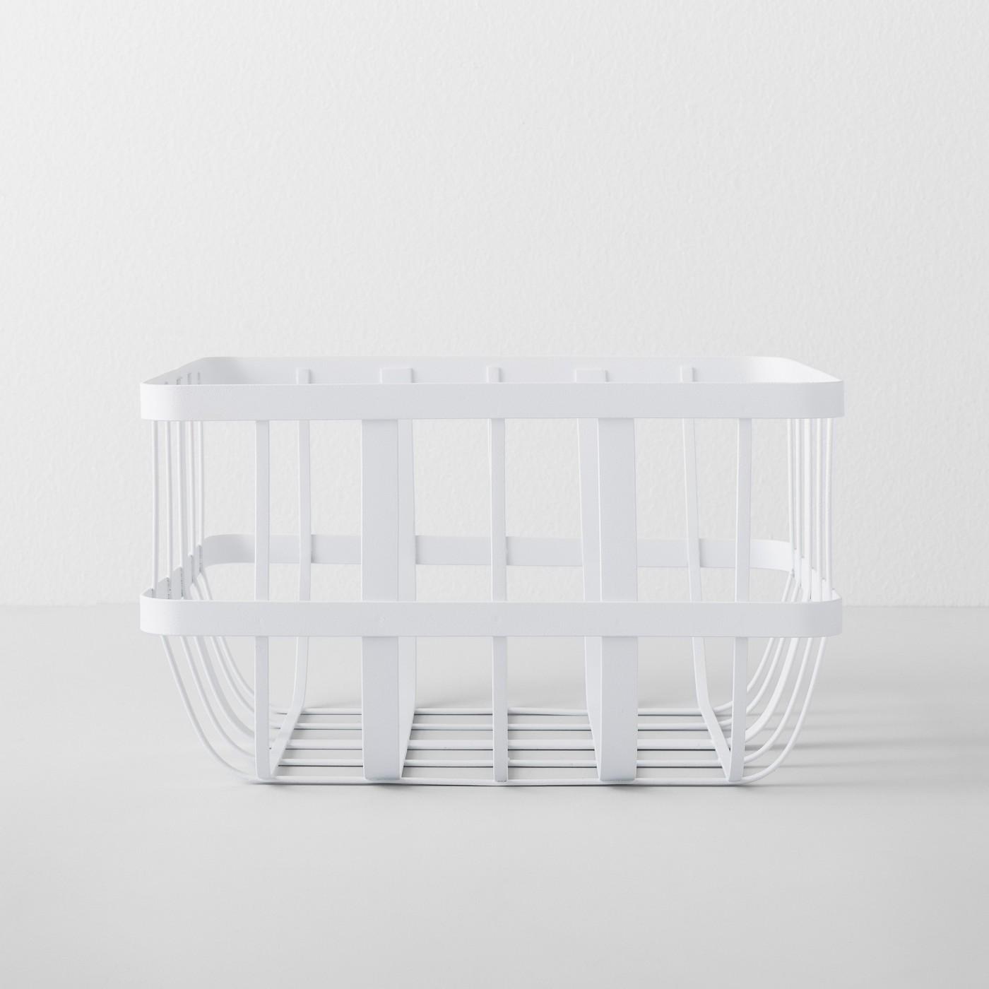 Kitchen Cabinet Organizer Basket White - Made By Design™ - image 1 of 4