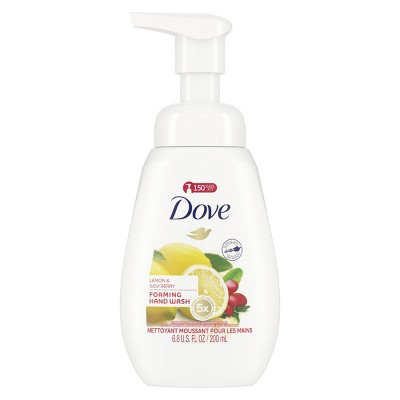 Dove Lemon & Goji Berry Foaming Liquid Hand Wash Soap - 6.8oz