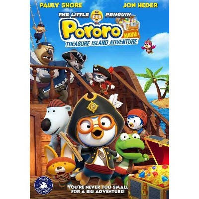 The Little Penguin Pororo's Treasure Island Adventure (DVD)(2021)
