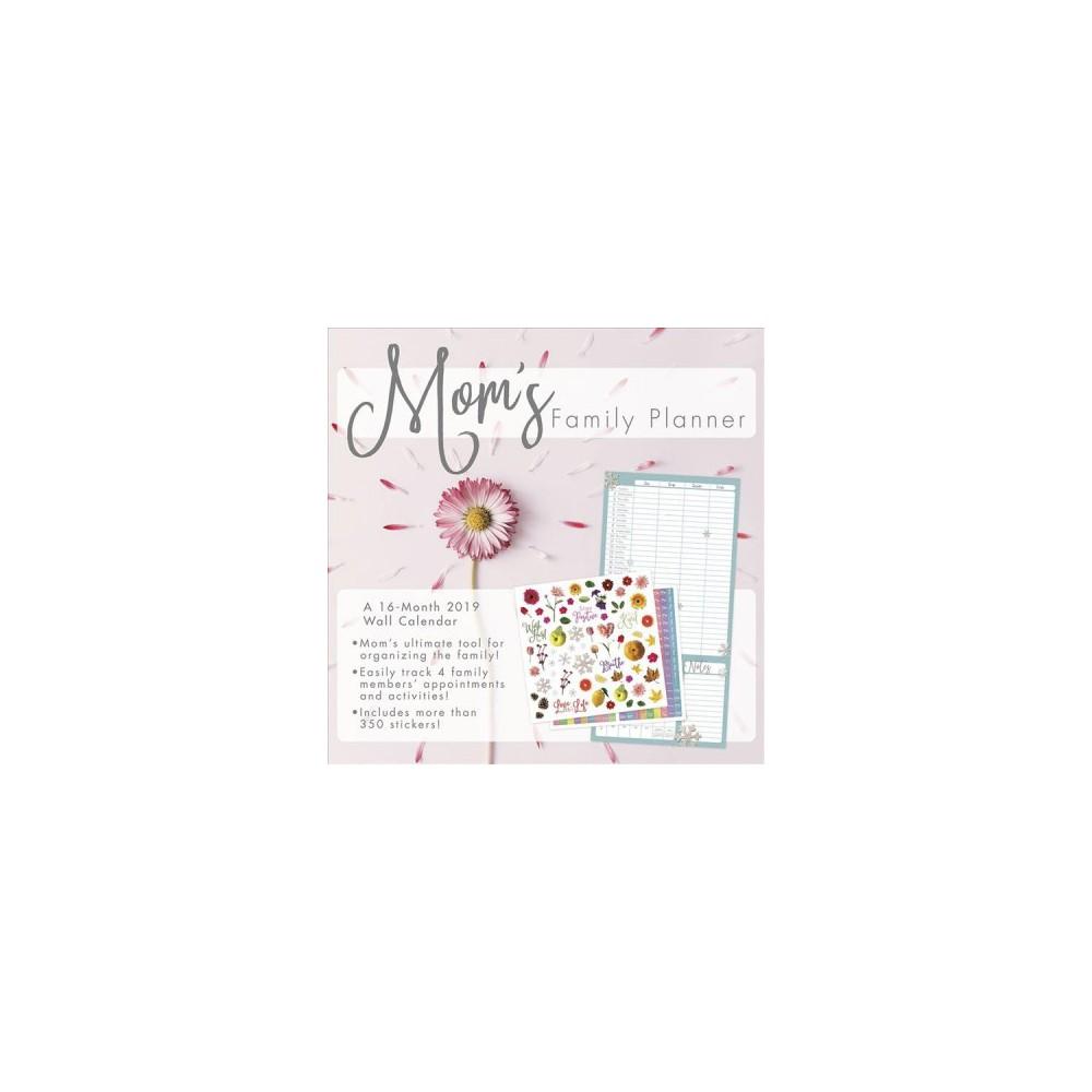 Mom's Family Planner 2019 Calendar - (Paperback)