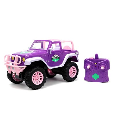 Girl Scouts RC Jeep Wrangler 1:16 Scale Remote Control Car 2.4ghz
