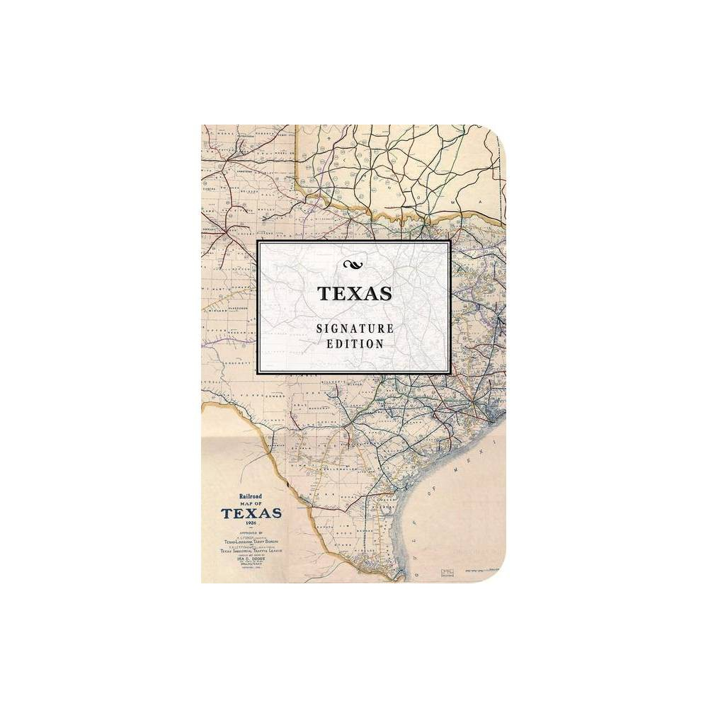 The Texas Signature Edition Signature Notebook By Cider Mill Press Paperback