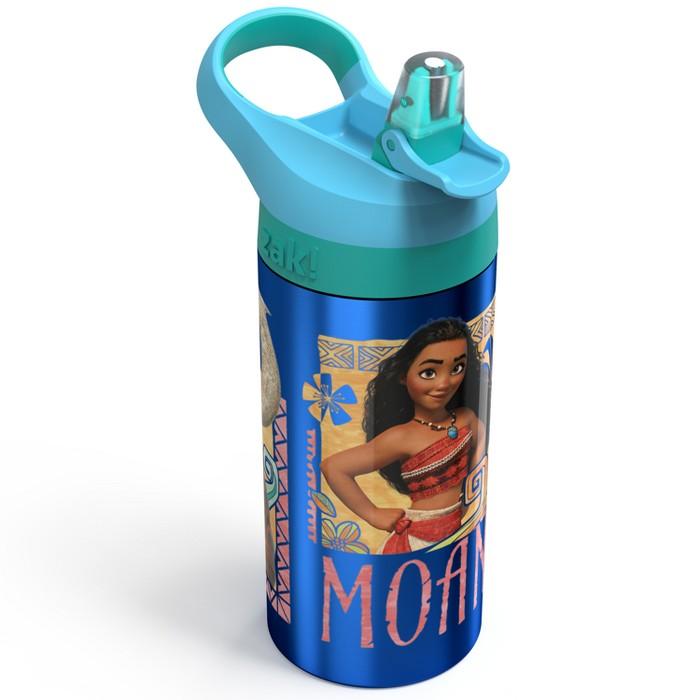 Moana 19.5oz Stainless Steel Water Bottle Blue/Green - Zak Designs - image 1 of 3