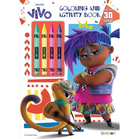 Vivo Coloring Book with Crayons - image 1 of 3