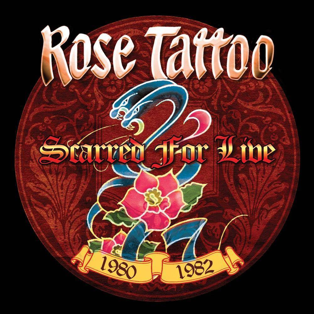 Rose Tattoo Scarred For Live 1980 1982 Cd