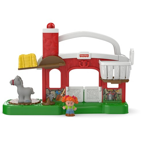 Fisher-Price Little People Hay Stackin' Stable - image 1 of 11