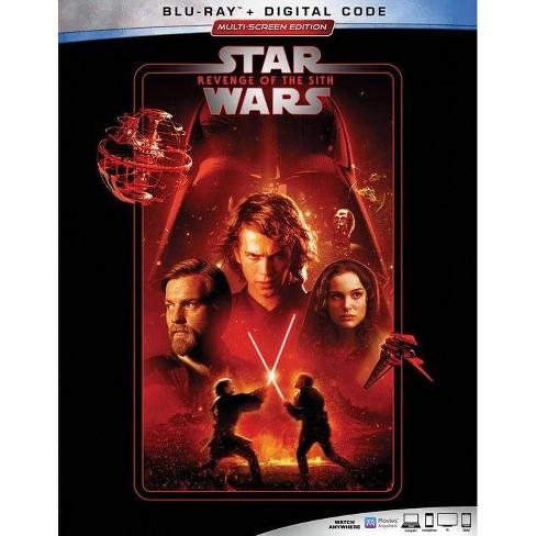 Star Wars Revenge Of The Sith Blu Ray Digital Target