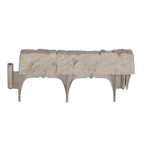 Suncast 10 Piece Landscape Design Border Decorative Natural Rock Stone Edging - image 1 of 2