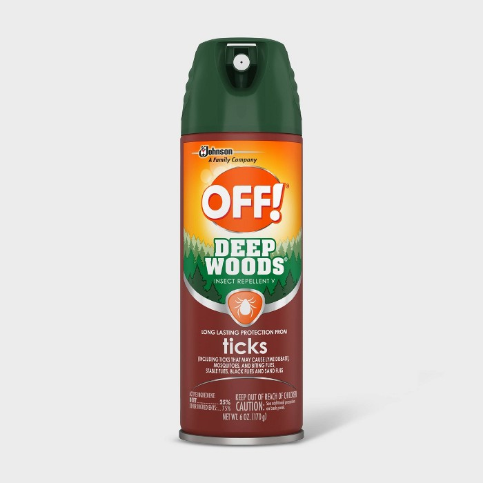 OFF! Deep Woods Tick Insect Repellent V - 1oz/1ct - image 1 of 5