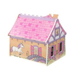 KidKraft Enchanted Forest 2 Level 7 Room Wooden Dollhouse with 16 Accessories