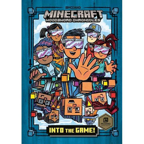 Into the Game! (Minecraft Woodsword Chronicles #1) - (Stepping Stone Book(tm)) by  Nick Eliopulos - image 1 of 1