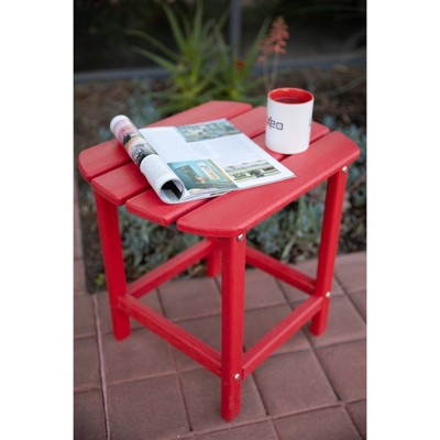 """Corona 18"""" Recycled Plastic Side Table - Luxeo"""