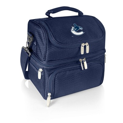 NHL Vancouver Canucks Pranzo Dual Compartment Lunch Bag - Blue