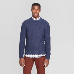 Men's Standard Fit Crew Neck Nep Sweater - Goodfellow & Co™