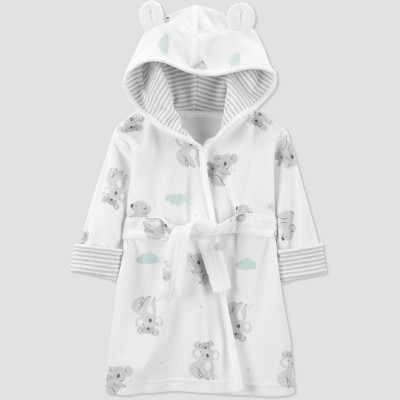 Baby Koala Bath Robe - Just One You® made by carter's White/Gray