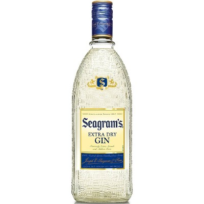 Seagram's Gin -750ml Bottle