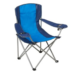 Oversize Captain Chair with Carrying Case - Blue - Embark™