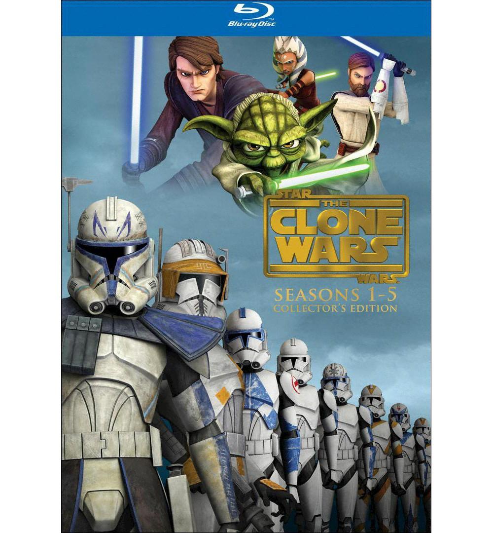 Star Wars Clone wars seasons 1-5 (Blu-ray)