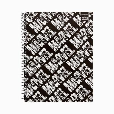 Spiral Notebook 1 Subject College Ruled BxW Avengers - Yoobi™