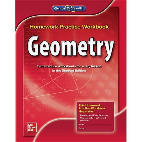 Geometry, Homework Practice Workbook - (Merrill Geometry) (Paperback) - image 1 of 1