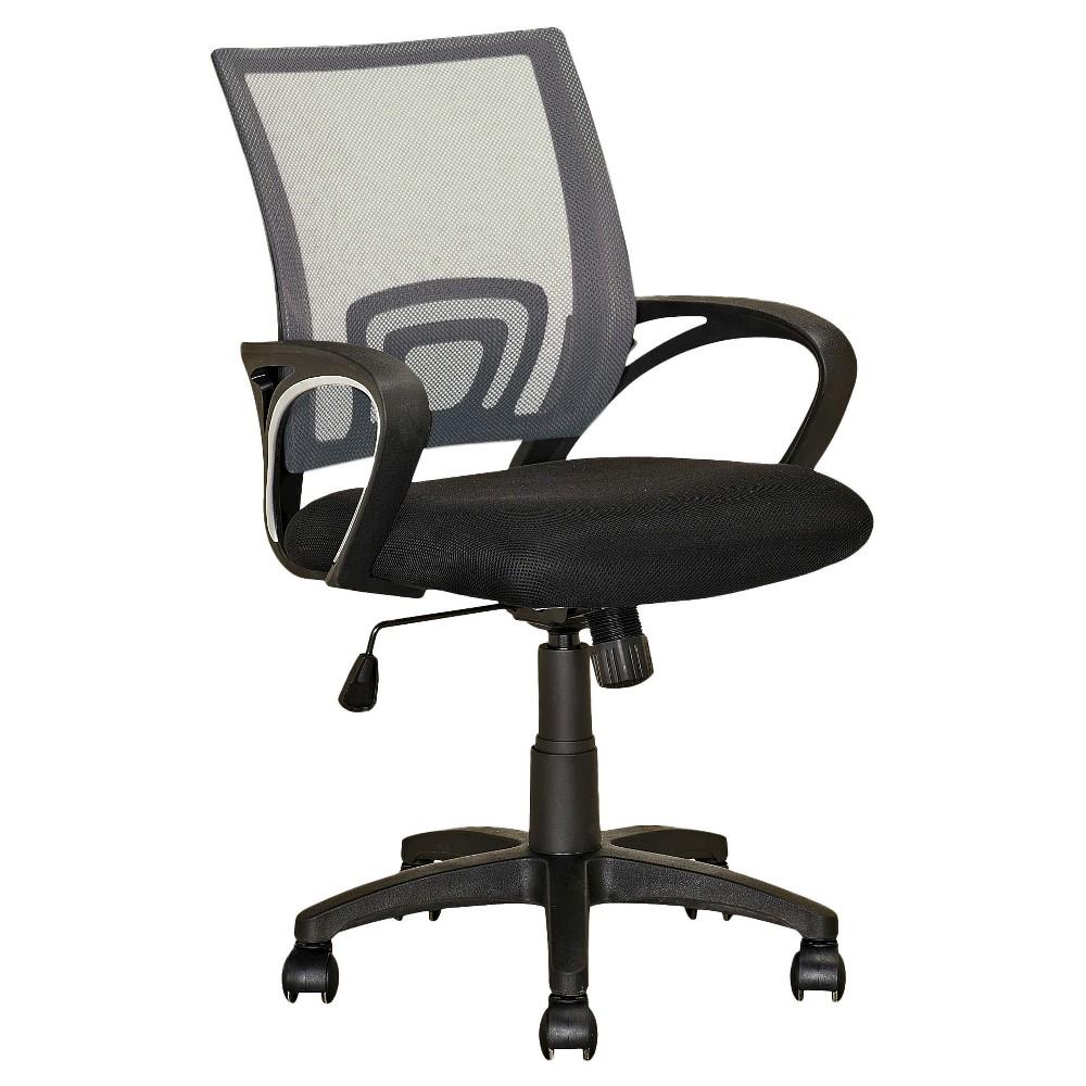 Workspace Mesh Back Office Chair Dark Gray - CorLiving