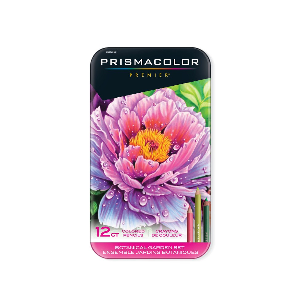 Image of Prismacolor 12ct Colored Pencils - Botanical Garden