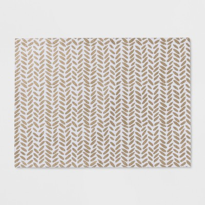 White Chevron Placemat - Project 62™