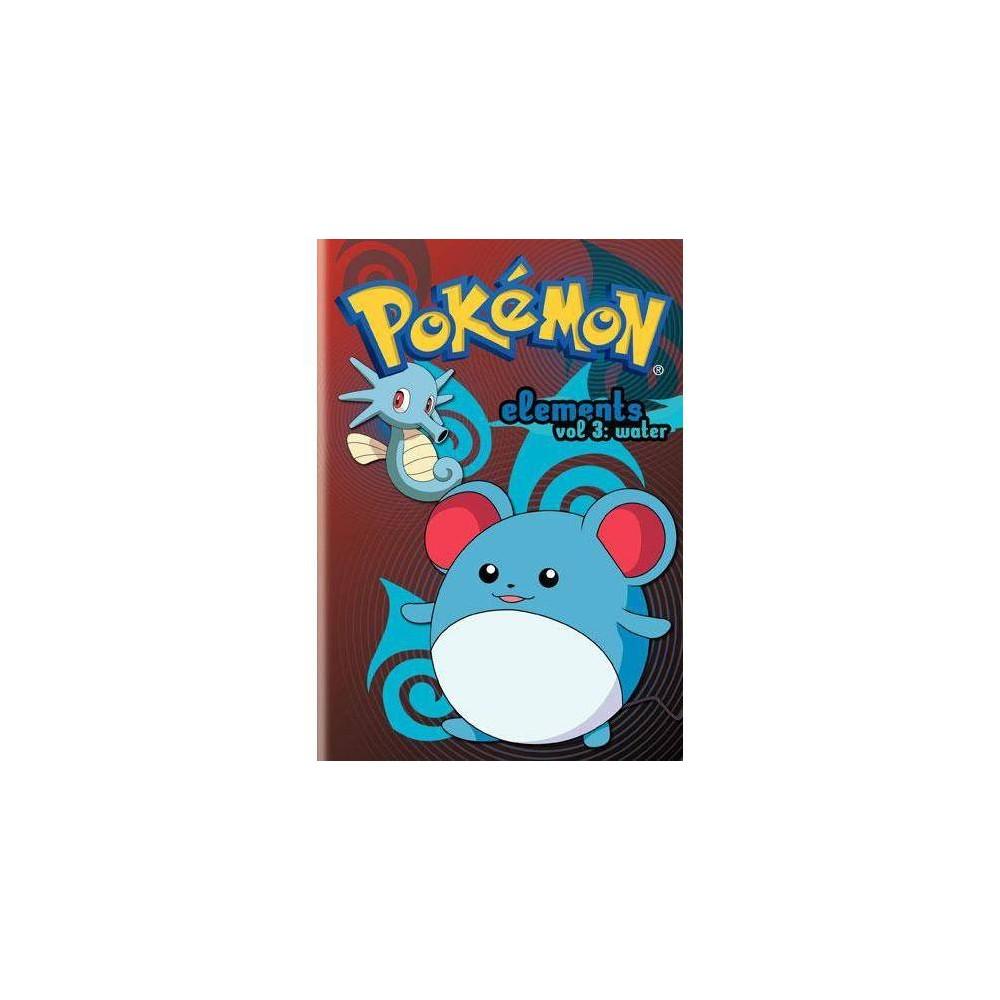 Pokemon Elements Volume 3 Water Dvd 2009