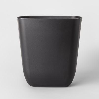 No-lid Trash Can Black - Room Essentials™